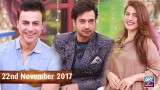 Salam Zindagi With Faysal Qureshi – 22nd November 2017