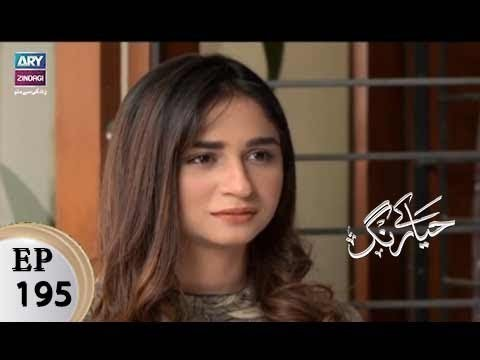 Haya Kay Rang – Episode 195 – 29th November 2017