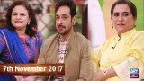 Salam Zindagi With Faysal Qureshi – 7th November 2017