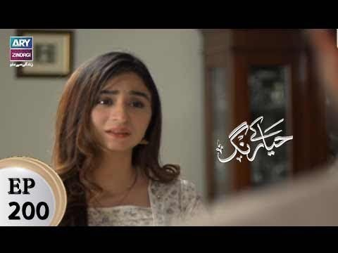 Haya Kay Rang – Episode 200 – 7th December 2017