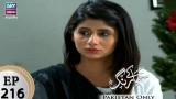 Haya Kay Rang – Episode 216 – 8th January 2018