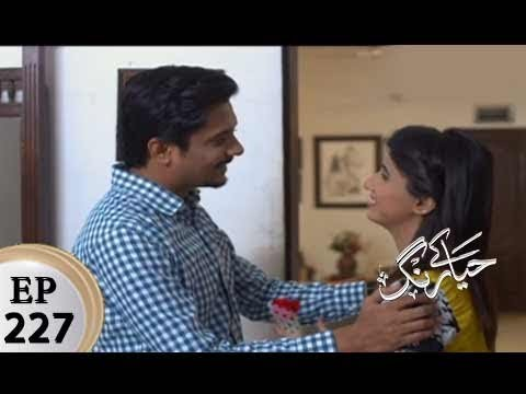 Haya Kay Rang – Episode 227 – 25th January 2018