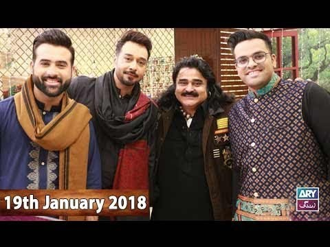 Salam Zindagi With Faysal Qureshi – 19th January 2018