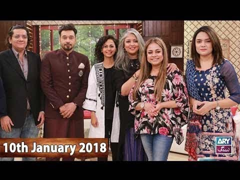 Salam Zindagi With Faysal Qureshi – 10th January 2018