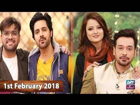 Salam Zindagi With Faysal Qureshi – 1st February 2018