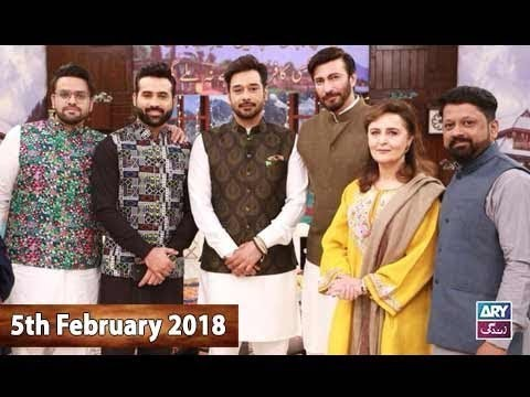 Salam Zindagi With Faysal Qureshi – 5th February 2018