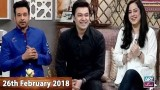 Salam Zindagi With Faysal Qureshi – 26th February 2018