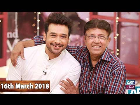 Salam Zindagi With Faysal Qureshi – 16th March 2018