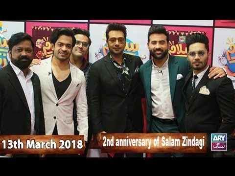 Salam Zindagi With Faysal Qureshi – 13th March 2018