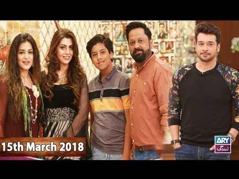 Salam Zindagi With Faysal Qureshi – 15th March 2018