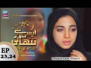 Aisi Hai Tanhai Episode 23 & 24 – 25th April 2018