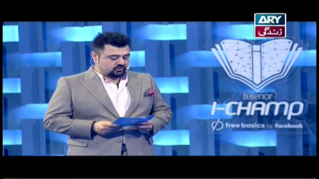 Telenor I-Champ – ARY Zindagi – 8th April 2018