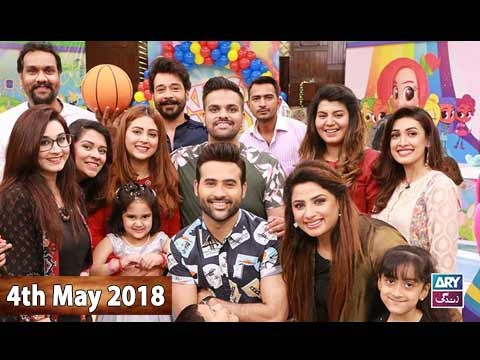 Salam Zindagi With Faysal Qureshi – 4th May 2018