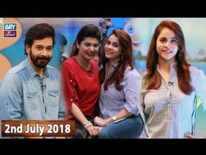 Salam Zindagi with Faysal Qureshi – 2nd July 2018