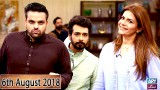 Salam Zindagi with Faysal Qureshi – 6th August 2018