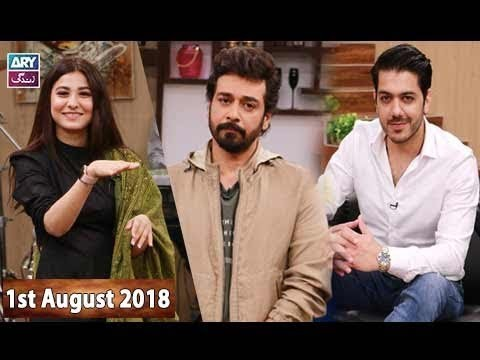 Salam Zindagi with Faysal Qureshi – 1st August 2018