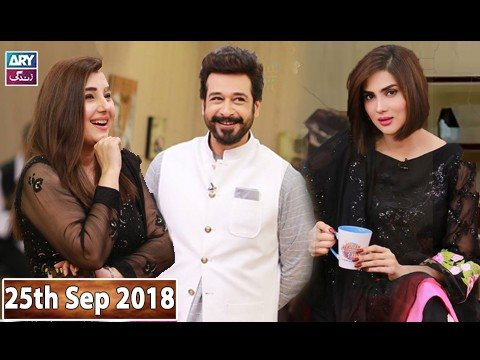 Salam Zindagi with Faisal Qureshi – 25th September 2018