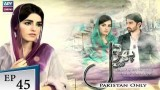 Phir Wohi Dil Episode 45 – 5th September 2018