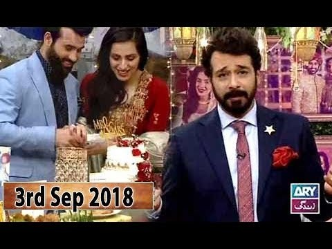 Salam Zindagi with Faisal Qureshi – 3rd September 2018