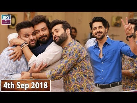 Salam Zindagi with Faisal Qureshi – 4th September 2018