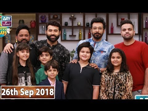 Salam Zindagi with Faisal Qureshi – 26th September 2018