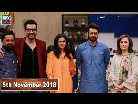 Salam Zindagi with Faisal Qureshi – 5th November 2018