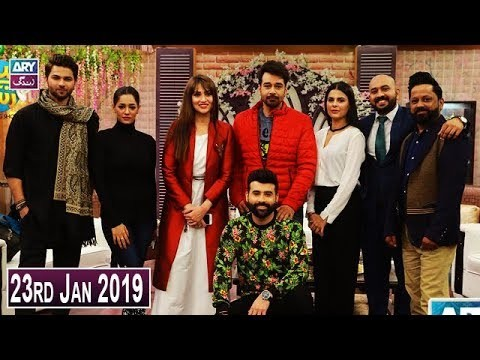 Salam Zindagi with Faysal Qureshi – 23rd January 2019