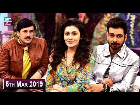 Salam Zindagi with Faysal Qureshi – 5th March 2019