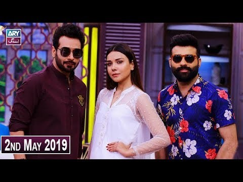 Salam Zindagi with Faysal Qureshi – 2nd May 2019