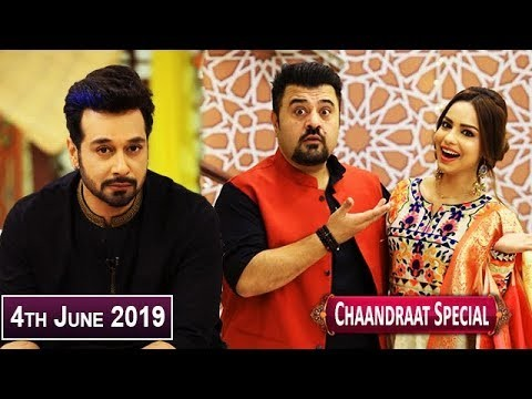 Salam Zindagi with Faysal Qureshi – 4th June 2019