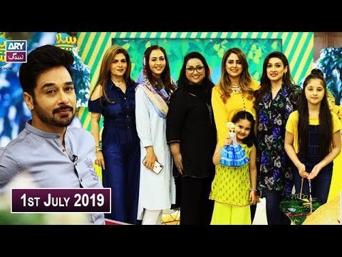 Salam Zindagi with Faysal Qureshi – 1st July 2019