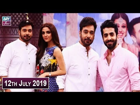 Salam Zindagi with Faysal Qureshi – 12th July 2019