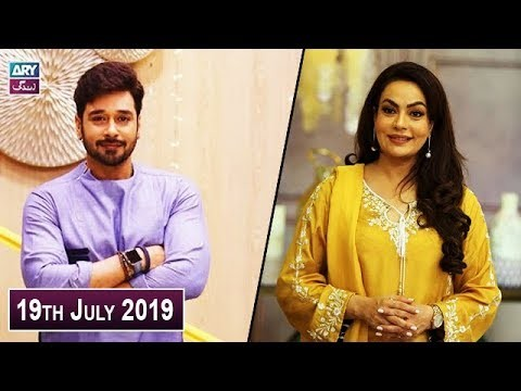 Salam Zindagi with Faysal Qureshi – 19th July 2019