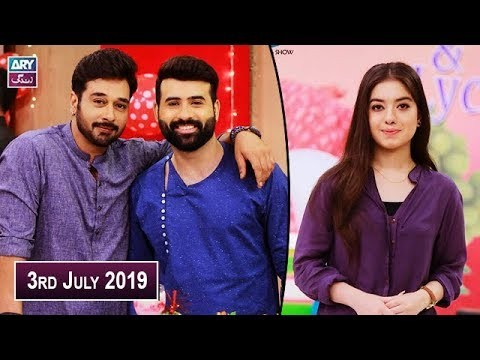 Salam Zindagi with Faysal Qureshi – 3rd July 2019