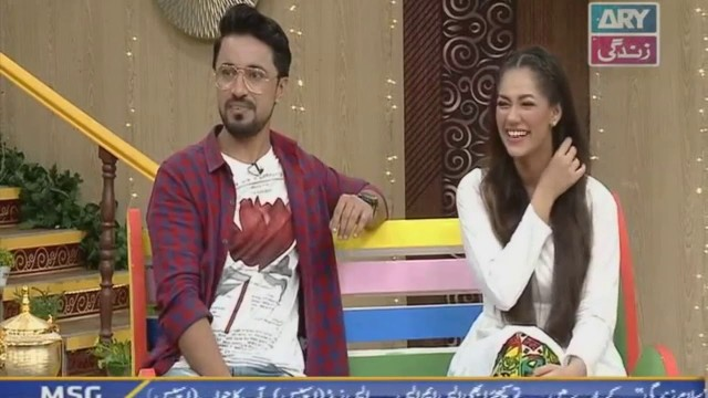 Check out this funny clip from the set of #SalamZindagi with #FaysalQuraishi
