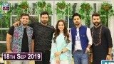 Salam Zindagi with Faysal Qureshi – 18th September 2019