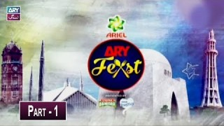 ARY Feast 2019 | Lahore | 8th December 2019 | Part 1