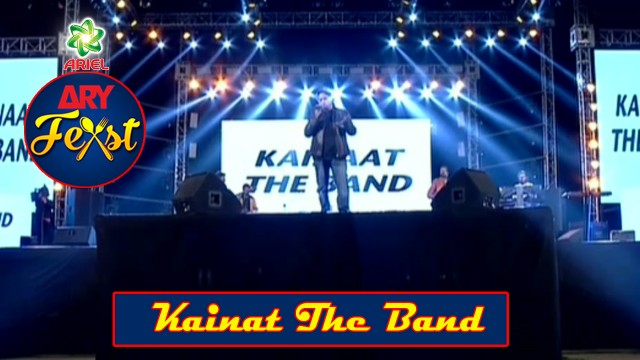 Kainat The Band Performing Live AT ARY Feast Pakistan's Biggest Family Food & Music Festival.
