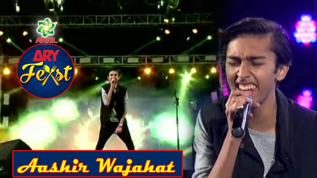 Aashir Wajahat Performing Live At ARY Feast Pakistan's Biggest Family Food & Music Festival.