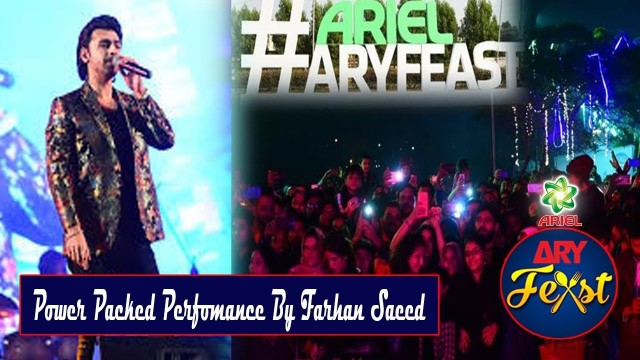 Power Packed Perfomance By Farhan Saeed |  Day 2 | ARY Feast Karachi #FarhanSaeed