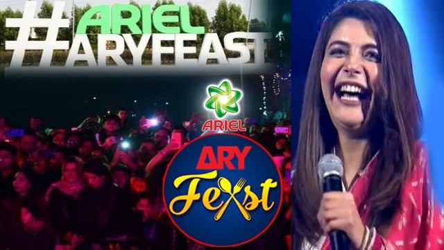Special Message From Nida Yasir | Say No To Diet Today | ARY Feast Karachi #NidaYasir.
