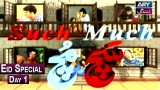 Sach Much – Eid Special Program – Moin Akhter | Day 1 | ARY Zindagi