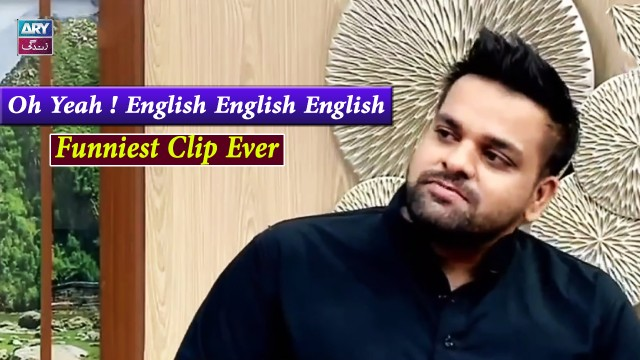 Oh Yeah ! English English English – Aadi Ki English | Funniest Moment Ever