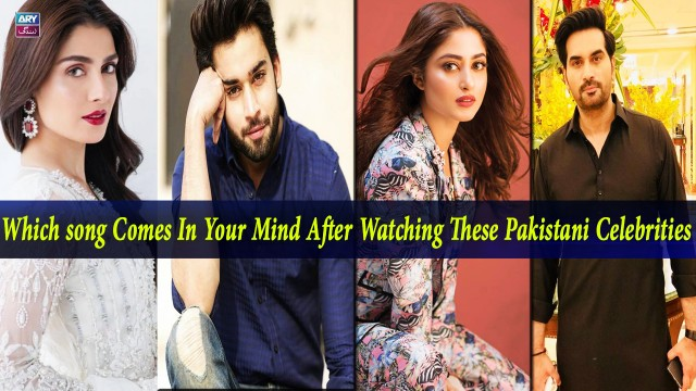 Which song Comes In Your Mind After Watching These Pakistani Celebrities ?? | Salam Zindagi