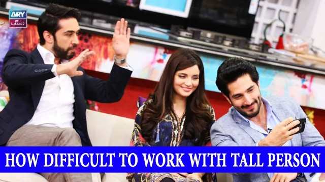 How Difficult To Work With Tall Person – Armeena Khan