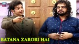 Interesting Segment Funkariyan With Aadi And Faizan