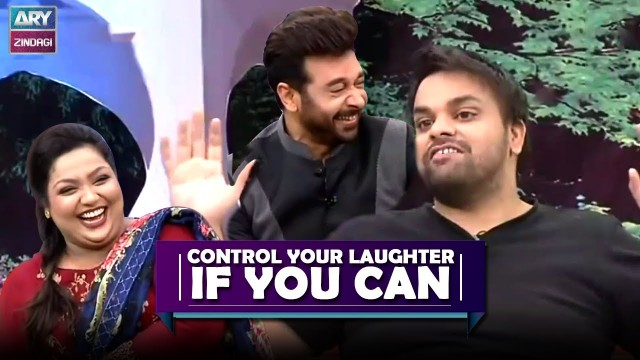 Control Your Laughter If You Can – Best Funny Moments – Aadi Adeal & Faisal Qureshi