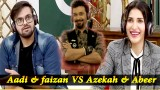Watch Act & Guess The Song | Game Segment | Aadi & faizan VS Azekah & Abeer