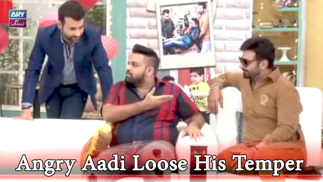 Salam Zindagi Main Hoi Faisal Qureshi Ki Jee Bhar Ke Buraiyan | Aadi Is On Angry Mood