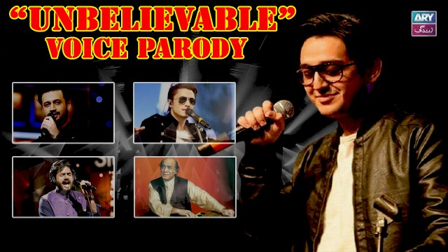 Unbeliveable Voice Parody Of Pakistan Top Singers | All In One – Shafaat Ali